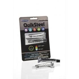 QuikSteel Εποξειδική κόλλα Ατσαλιού σε πάστα 2 συστατικών 56.8gr