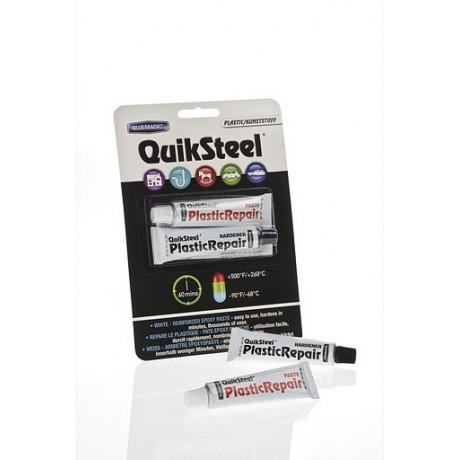 QuikSteel Εποξειδική κόλλα Πλαστικών άσπρη σε πάστα 2 συστατικών 56.8gr