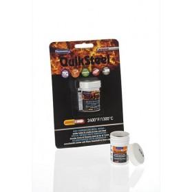 QuikSteel  Thermosteel Εποξειδκή πάστα Ατσαλιού 1300 οC 85,2gr